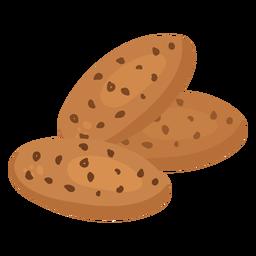 Coockie de pastelaria plana
