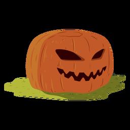 Ilustração de sorriso de abóbora