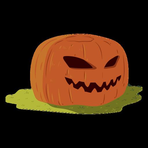 Pumpkin grin illustration Transparent PNG