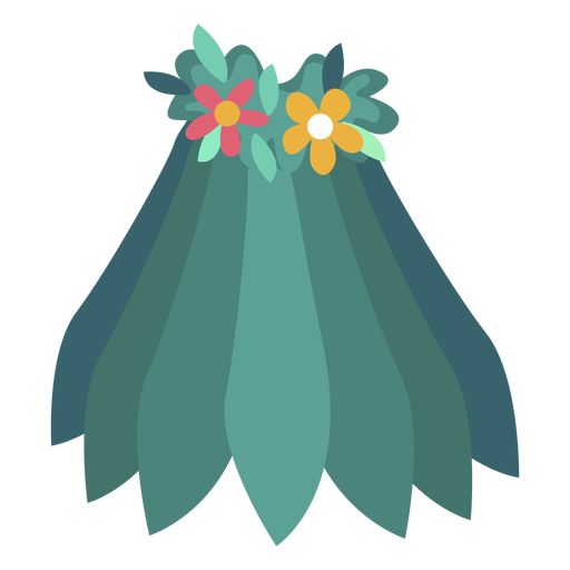 Rock Blume flach Transparent PNG