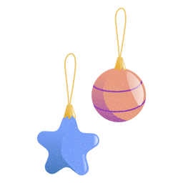 Star ball toy illustration