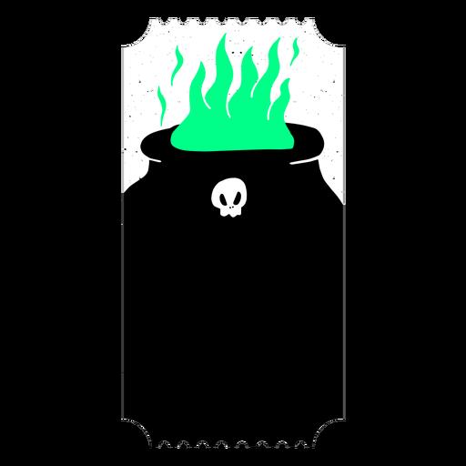 Boleto de fuego de cobre llama plana Transparent PNG