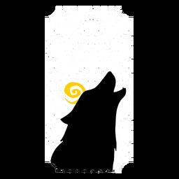 Ticket Wolf flach