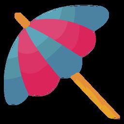 Sombrilla sombrilla plana