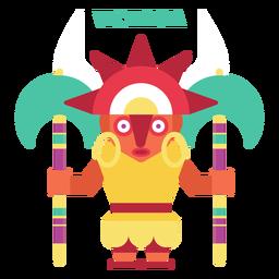 Vichama inca divinity flat