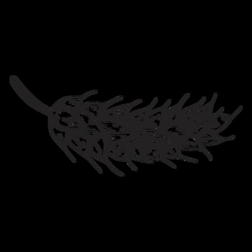 Ilustración de oreja de maíz de trigo Transparent PNG
