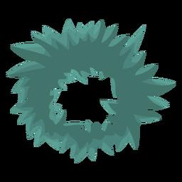 Corona plana