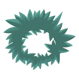 Wreath flat