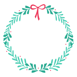 Adesivo de distintivo de ramo de arco de quadro de grinalda