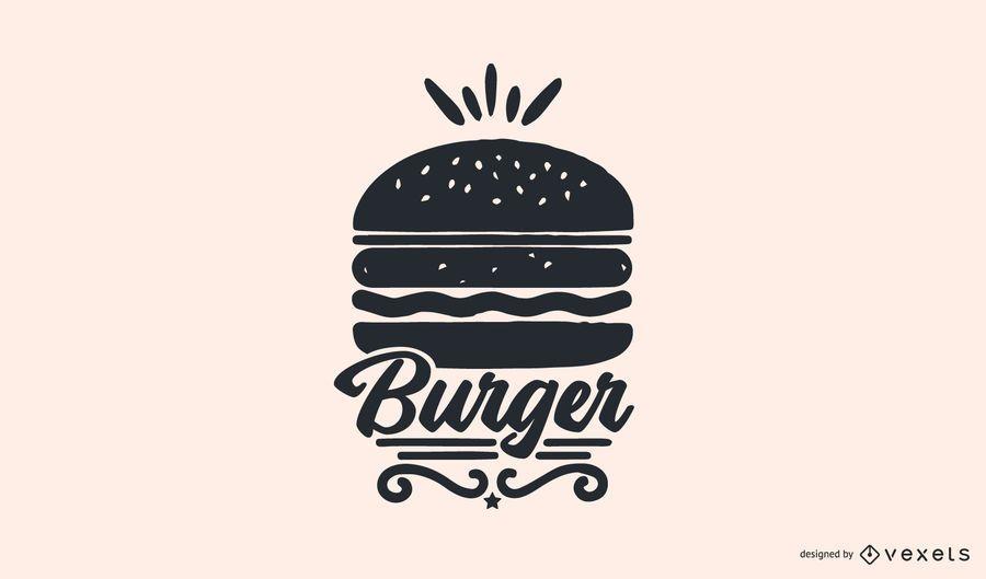 Burger Food Logo Design