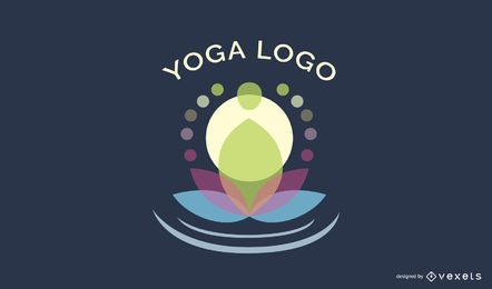 Design de logotipo do Yoga Center