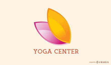 Diseño de logotipo de empresa de centro de yoga