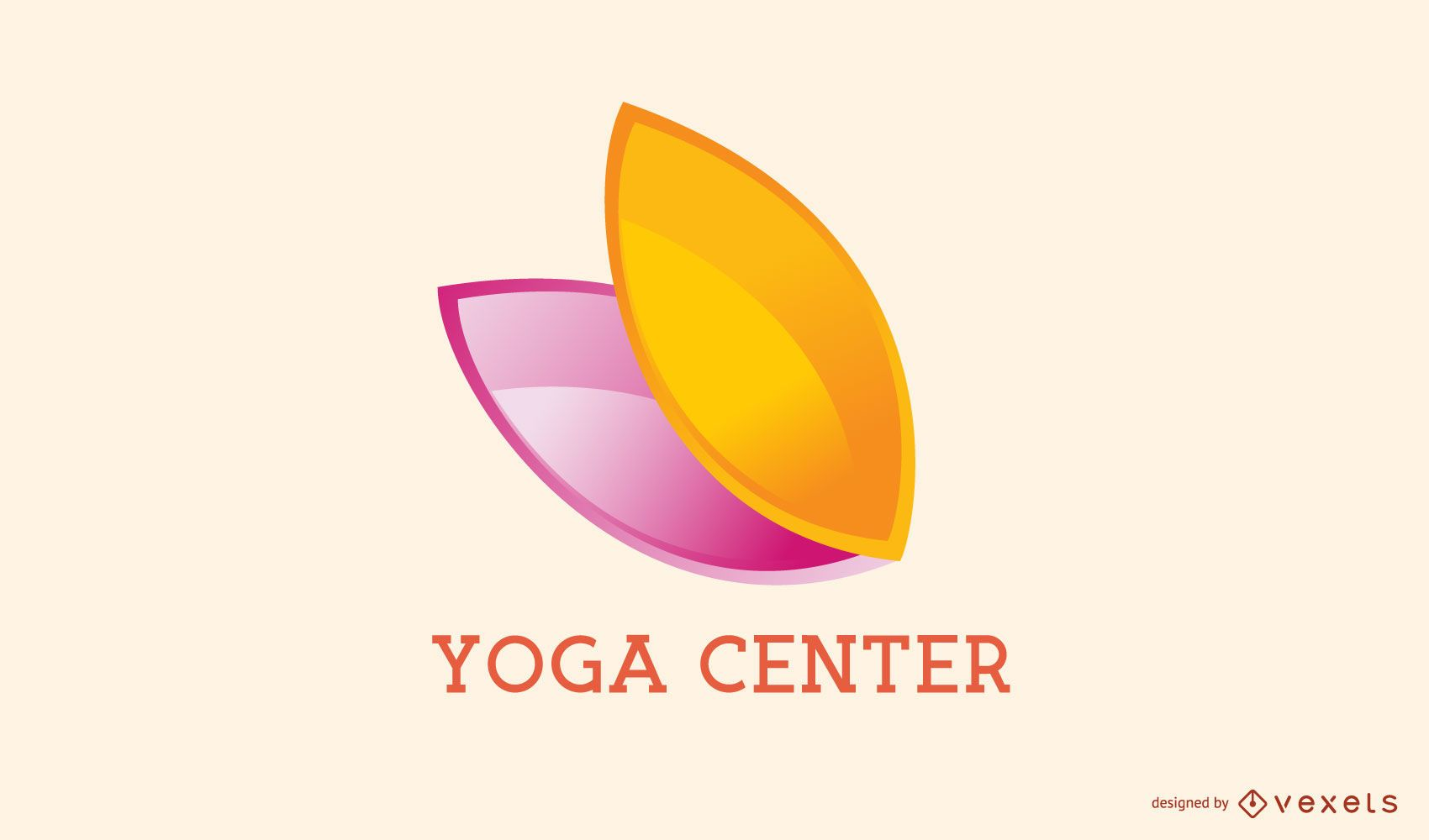 Yoga Center Business Logo Design