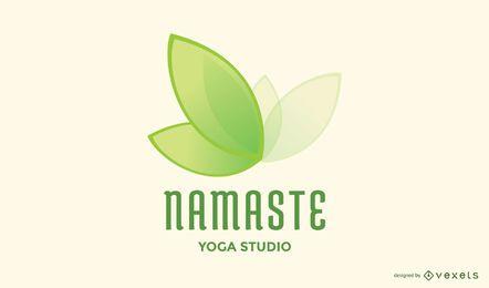 Namaste Yoga Logo Design