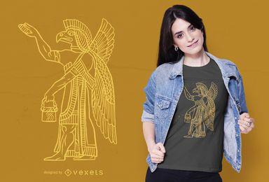 Design de t-shirt Anunnaki