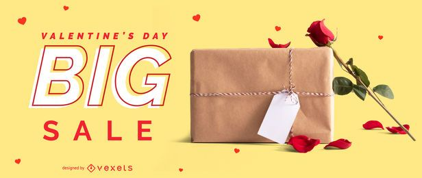 Valentine's big sale web slider