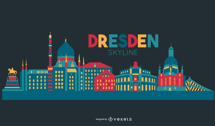 Dresden skyline design