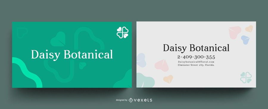 Clover business card