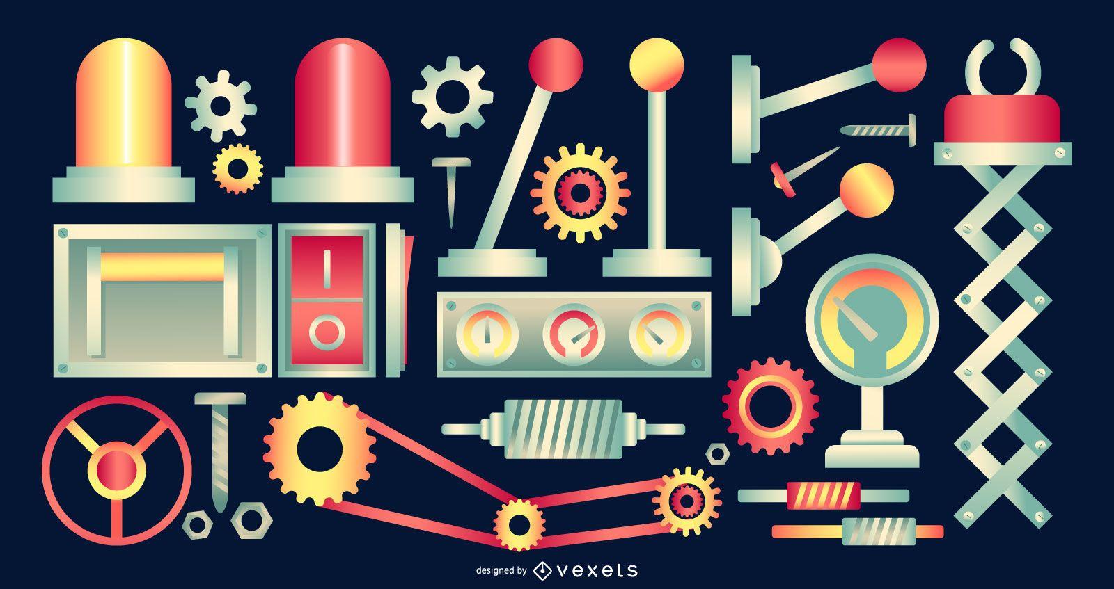 Factory Design Elements Pack