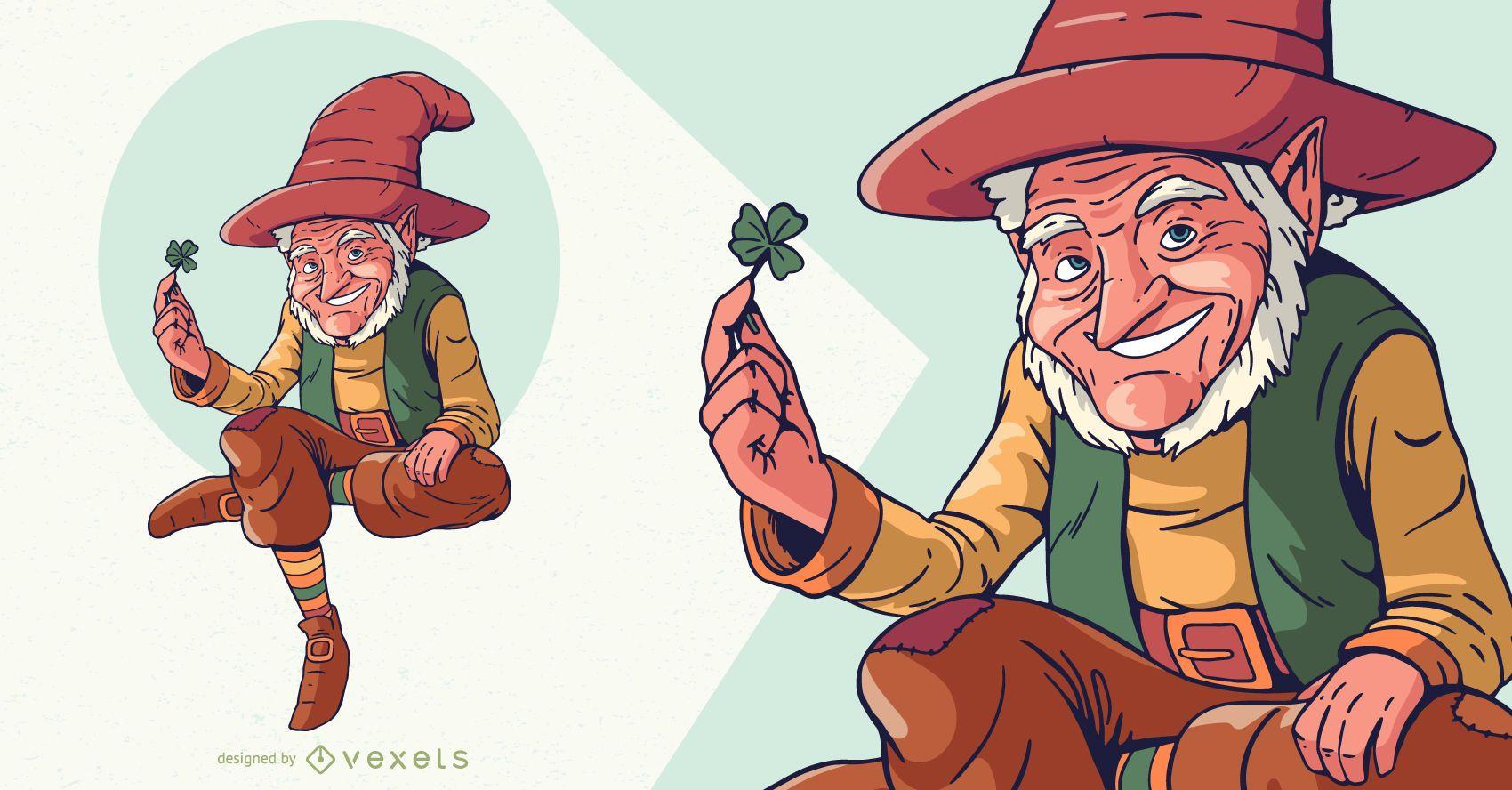 Leprechaun character design