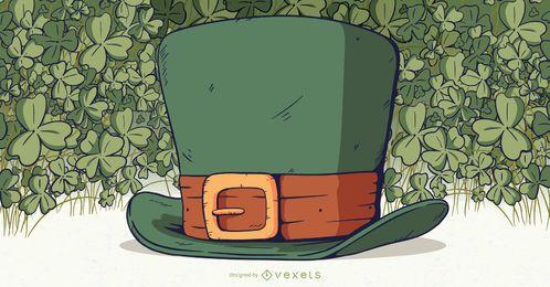 Ilustração de chapéu de duende
