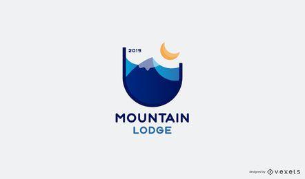 Diseño de logotipo de Mountain Lodge