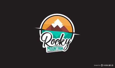 Design do logotipo da Rocky Mountain