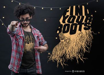 Find your roots t-shirt design