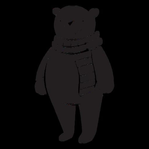Urso De Pe Dos Desenhos Animados Baixar Png Svg Transparente
