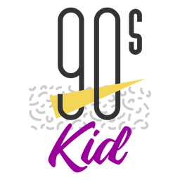 90s kid lettering
