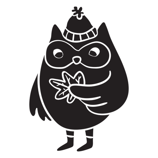 Animal silhouette owl Transparent PNG