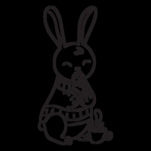 Animals stroke rabbit Transparent PNG
