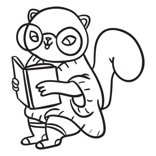 Animals stroke squirrel Transparent PNG