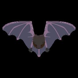 Mosca plana de morcego