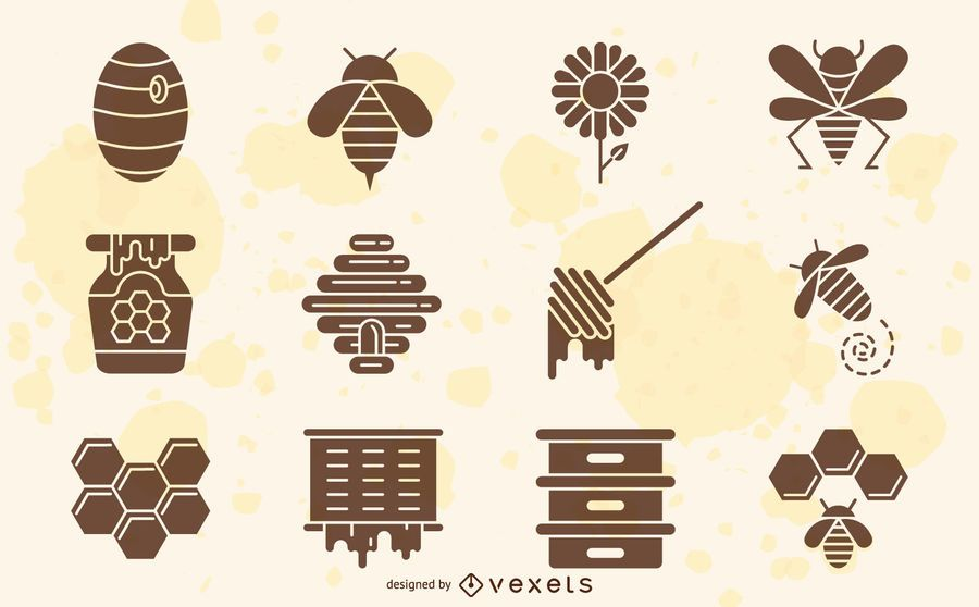 Bee elements collection