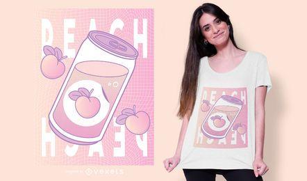 Diseño de camiseta vaporwave can
