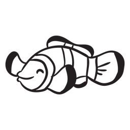 Curso de animal peixe-palhaço