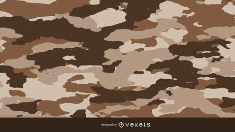 Brownie padrão de camuflagem