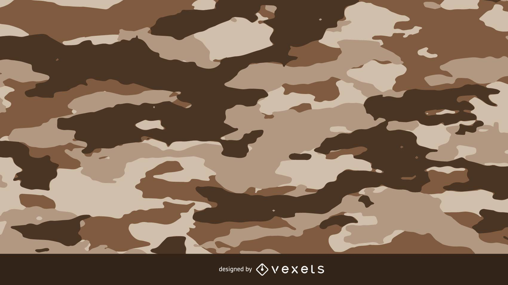 Brownie Camouflage Pattern
