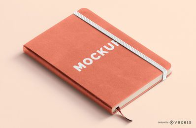 Notebook mockup design