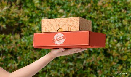 Diseño de maquetas de envasado de alimentos