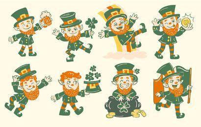St Patricks Charakter Sammlung