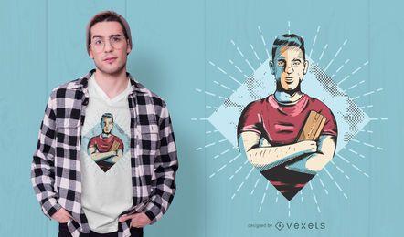 Design de camiseta para impressora de tela