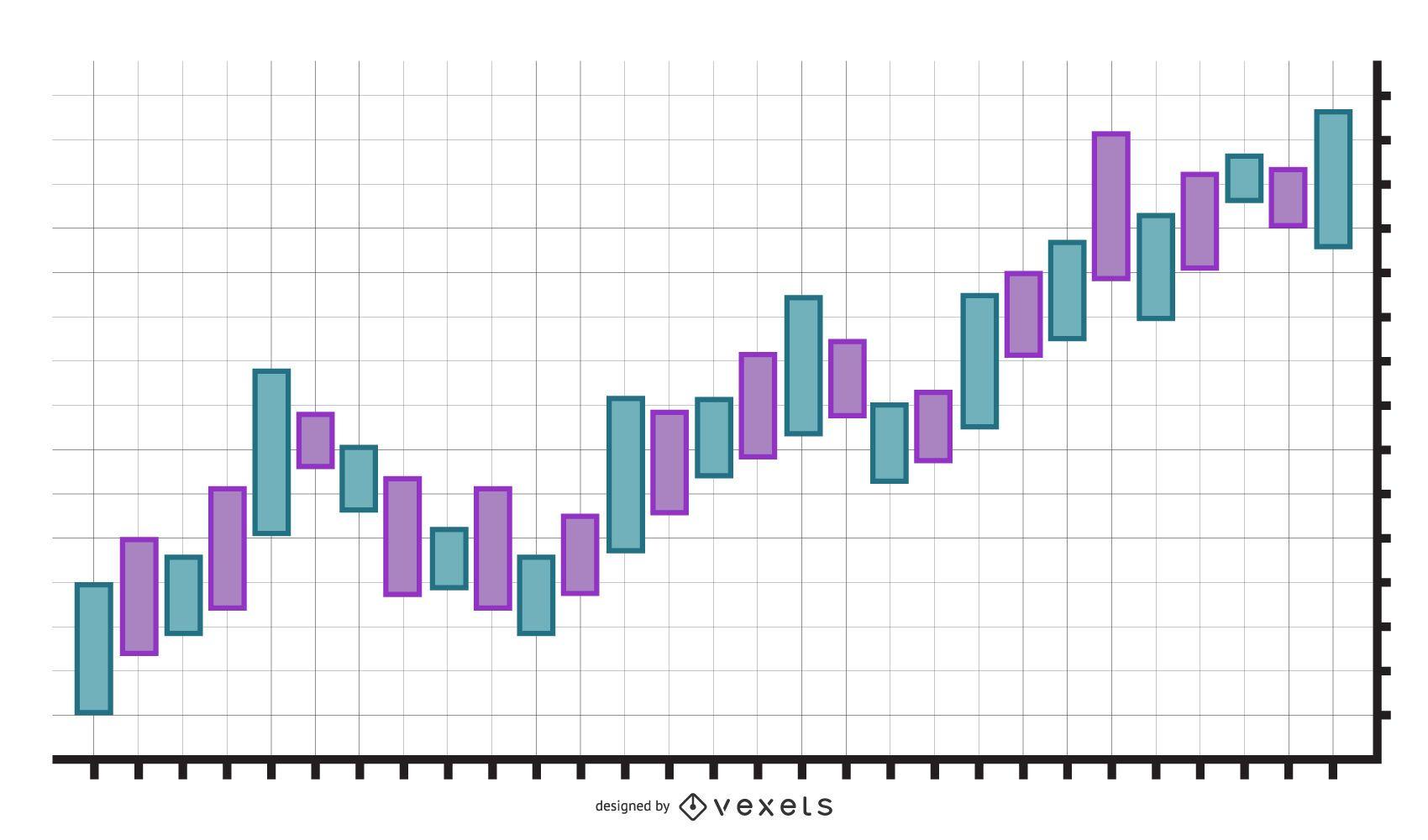 Exchange Chart Graphic Design