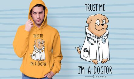 Doktorhundet-shirt Entwurf