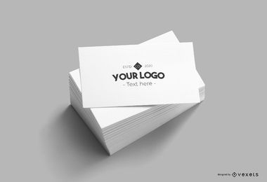 Visitenkarte-Mockup-Design