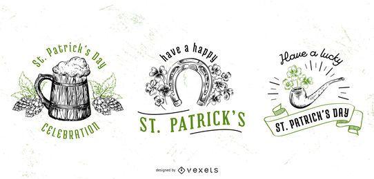 St. Patricks Day Abzeichen festgelegt