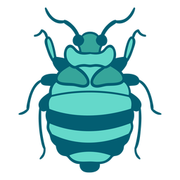Ícone de inseto besouro azul