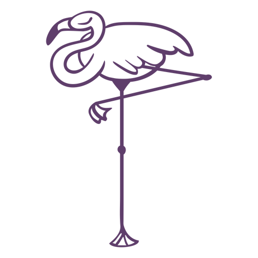 Esquema de dormir Flamingo