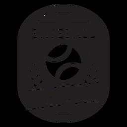Baseball league branches badge